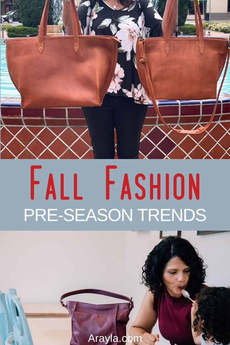 Fall is almost here and that means it is time to get into your pre-fall fashion trends and warm things up a bit as we prepare for the best fall fashion.