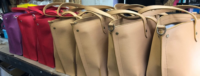 Take a peek inside the Arayla design process and learn how each bag is made ethically in Los Angeles, California.