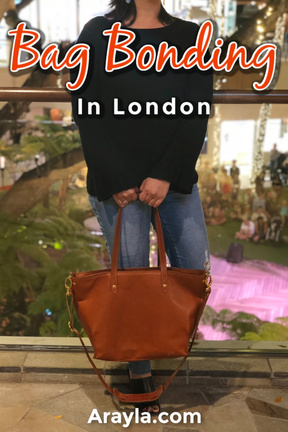 Women all around the world are bag bonding which shows us that the things you were could be the doorways to creating surprising relationships.