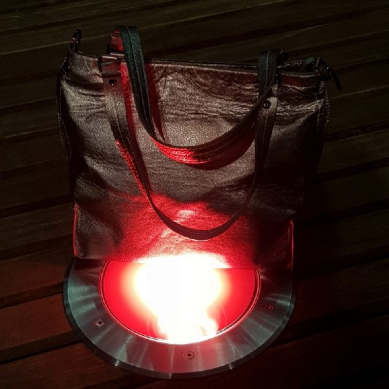 Arayla Handbag on a Red Spotlight