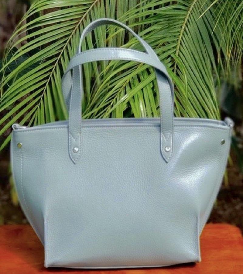 Los Angeles Handbag in Front of Palms