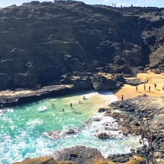 Beaches in Hawaii People Swimming in the Ocean